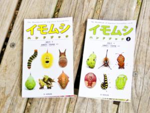 葉を食べるコレ何の幼虫?そんな時は「イモムシハンドブック」を見てみよう