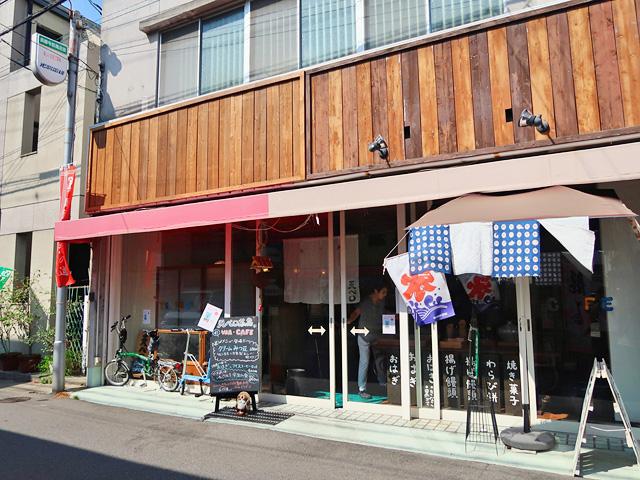 「神戸天ペロ」のお店の外観