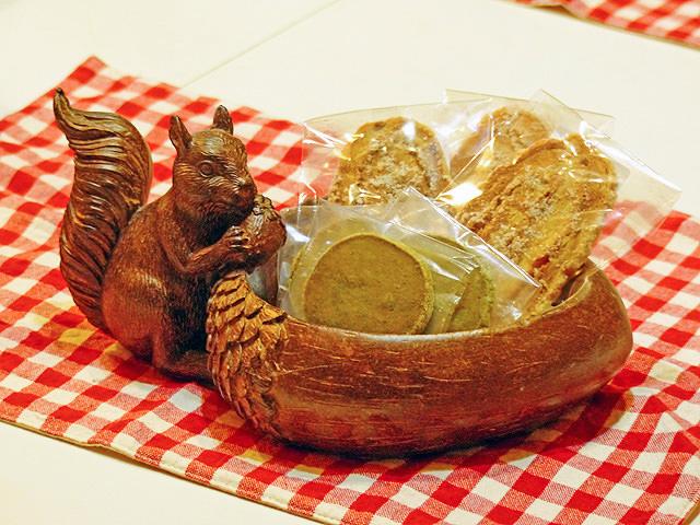 ケーキ屋さん「ブリエブラン」の焼き菓子の写真